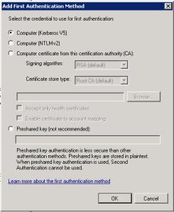Security rule advanced methods 2